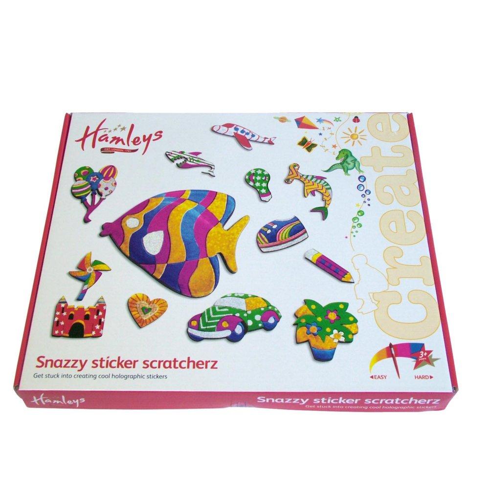 Набор Hamleys Стикеров/Наклеек 24 (Sticker Scratcher)