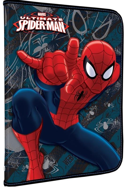Папка для труда Spider-Man ClassicПапка для труда предназначена для хранения тетрадей, рисунков и прочих бумаг формата А4, а также ручек, карандашей, ластиков и точилок. Внутри находится одно большое отделение с вкладышем, содержащим 10 фиксаторов для школьных принадлежностей и фиксатор для тетрадей. Папка выполнена из прочного полипропилена. Надежная застежка-молния вокруг папки обеспечивает максимальный комфорт в использовании изделия, позволяя быстро открыть и закрыть папку.<br>