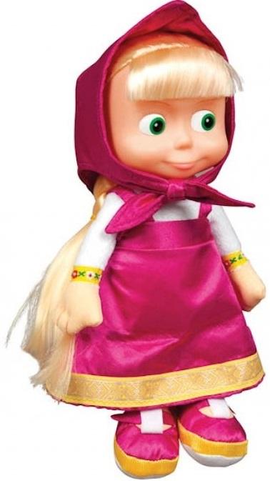 Мягкая игрушка Мульти-Пульти Маша, 40 смЗабавная кукла Маша в точности похожа на свой прототип из мультфильма Маша и Медведь . Мультфильм про девочку Машу, которая никому не дает покоя и в первую очередь — своему другу Медведю. Все малыши придут в восторг от этой игрушки, ведь теперь можно веселиться вместе со своей любимицей. Персонаж Маша так напоминает их самих, что выражения «сейчас я буду кушать, сейчас меня покормят», «вкусновато, но маловато», «Кашу! Кашу!», «Ты спишь, что ли?» и другие прочно вошли в детский лексикон. Игрушка профессионально озвучена.<br>