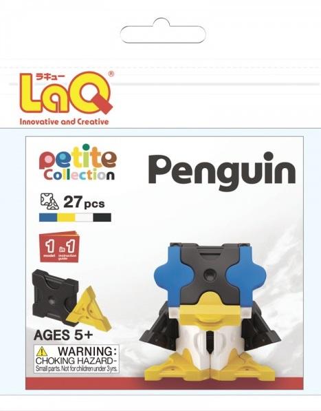 Конструктор LAQ Penguin, 27 деталейКонструктор LaQ Penguin не позволит скучать вашему ребенку. Он включает в себя 27 разноцветных пластиковых элементов, с помощью которых малыш сможет собрать фигурку в виде маленького пингвина.В комплект также входит схематичная инструкция по сборке.Конструктор - это один из самых увлекательнейших и веселых способов времяпрепровождения. Ребенок сможет часами играть с конструктором, придумывая различные ситуации и истории.<br>
