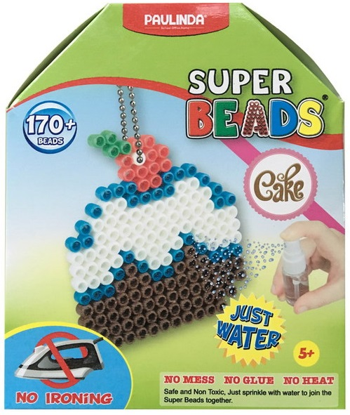 Мозаика Paulinda Кексик 150018Мозаика Super Beads от бренда Paulinda позволит создать оригинальное украшение в виде Кексика . В набор входит все необходимое для создания подвески. Подробная инструкция поможет разобраться в последовательности работы. Соединяя вместе небольшие пластиковые шарики, ребята смогут своими руками сложить красивую разноцветную фигурку, которую можно использовать в качестве украшения.<br>