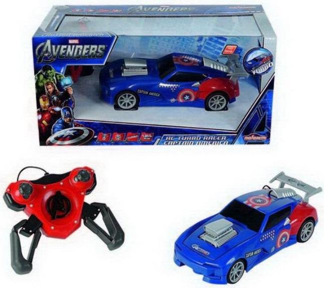 Машина на радиоуправлении Majorette Капитан Америка avengers машина на радиоуправлении капитан америка
