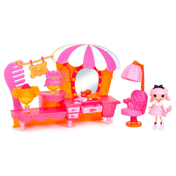 Игрушка кукла Mini Lalaloopsy с интерьером в асс-те игрушка кукла mini lalaloopsy 2 с дополнительными аксессуарами в асс те lalaloopsy