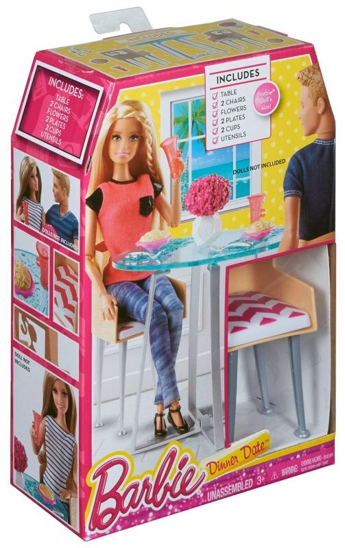 Barbie® Наборы для декора дома barbie набор для декора дома холодильник с продуктами cfg65 cfg70