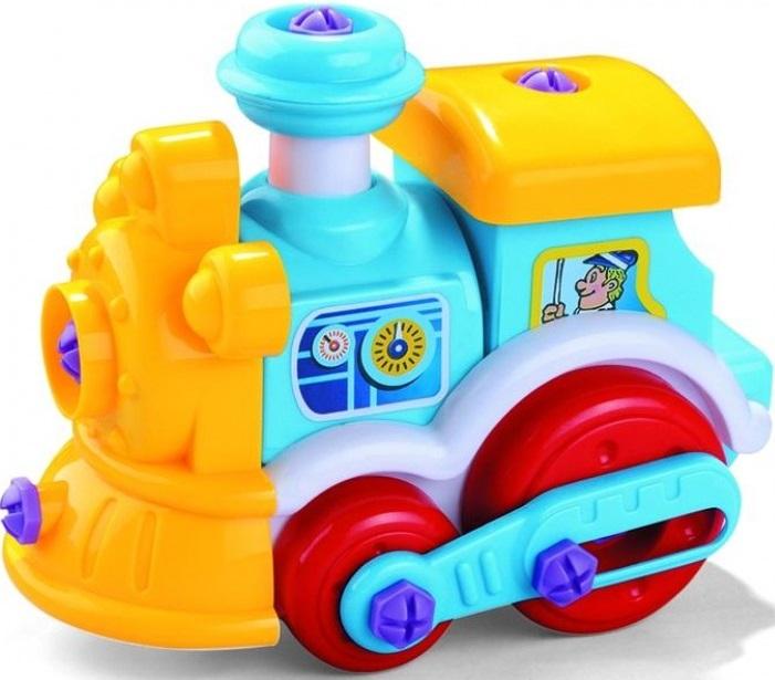 Конструктор Bebelot Basic Паровозик игрушка для активного отдыха bebelot захват beb1106 045