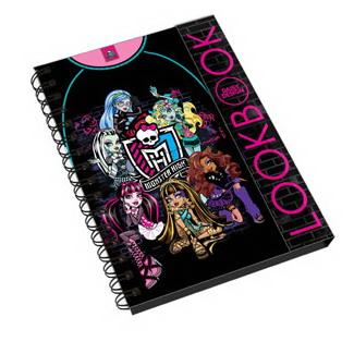 Книга для девочек Создай стильный образ Monster High цена 2016