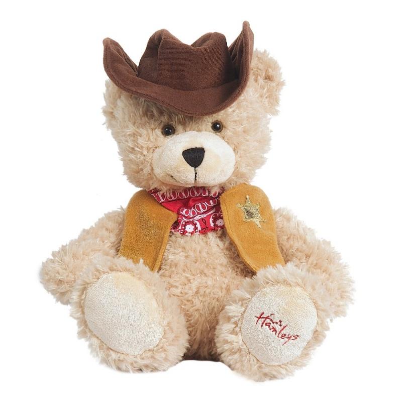 Купить Игрушка плюшевая Медведь Ковбой 27 см.