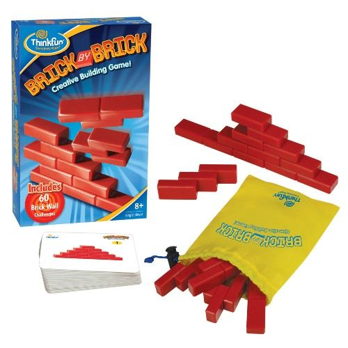 Игра-головоломка КирпичикиЦель игры:Разместить части головоломки так чтобы они соответствовали рисунку на карточке.Простые правила и понятные цели игры.В каждой игре от 60 вариантов заданий различного уровня сложности.Каждая игра снабжена удобным мешочком для транспортировки и хранения.Для детей от 8-и лет.<br>