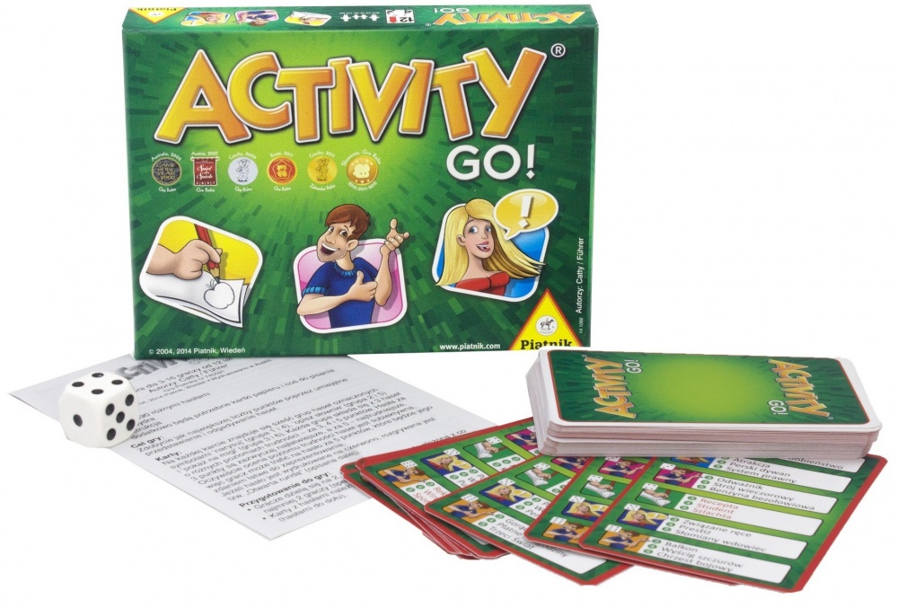 Настольная игра Piatnik Activity Вперед карты игральные коллекционные piatnik египет 55 карт