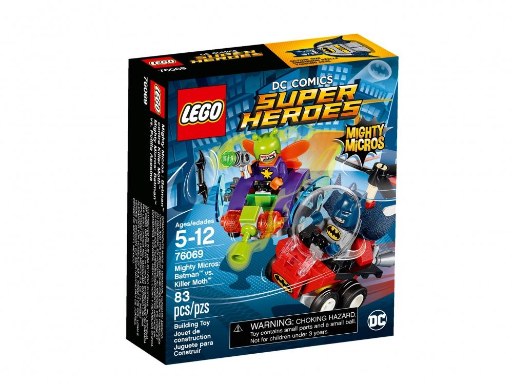Конструктор Lego Super Heroes 76069 Mighty Micros: Бэтмен против Мотылька-убийцы конструктор lego super heroes 76069 mighty micros бэтмен против мотылька убийцы