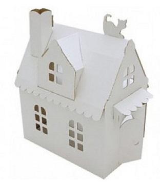 Игровой набор Картонный Папа Домик Алисы картонный папа игровой домик из картона картонный камин