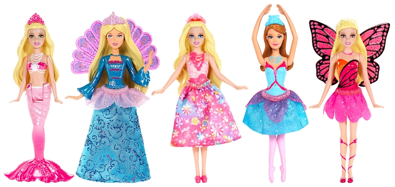 Barbie® Сказочные мини-куклы в ассортименте barbie barbie шлепанцы со светодиодами для девочки фиолетовые