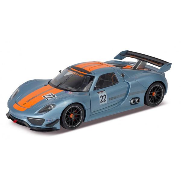 Игрушка модель машины 1 24 Porsche 918 RSR rastar 1 24 porsche 918 spyder серебро 71400