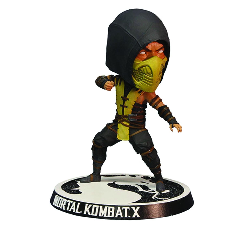 Фигурка Mortal Kombat X Scorpion Bobblehead 15 см