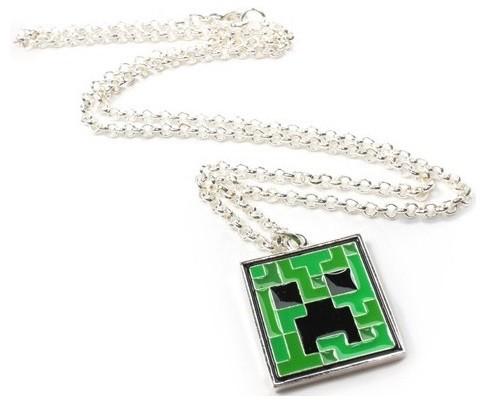 Кулон Minecraft Creeper PendantТакой красивый, оригинальный и очень стильный подарок будет замечательным презентом для каждого, кто любит играть в Minecraft! Выполненный из качественных материалов, в оригинальном стиле одного из наиболее узнаваемых персонажей игры – Крипера, такой кулон подарит приятные воспоминания и ассоциации с тем, кто его подарил. Замечательный аксессуар, способный выделить своего хозяина, выгодно подчеркнув его вкусы и предпочтения.<br>