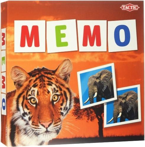 Игра Tactic Games Мемо Дикие животные 2  игра печатная tactic дикие животные 2 41441