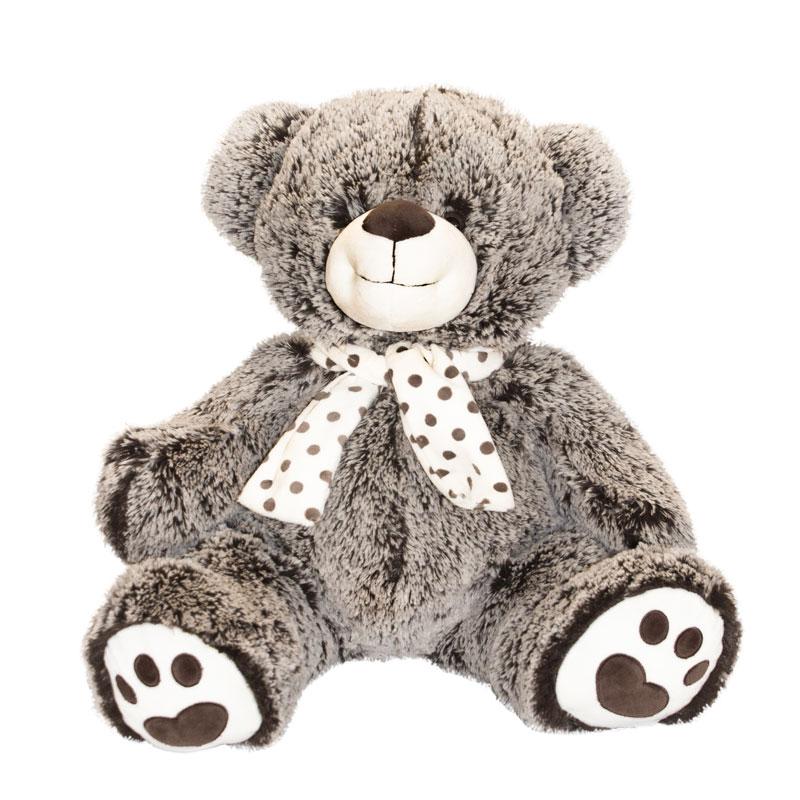 Мягкая игрушка Мишка Семен, 39 смМягкая игрушка Мишка Семен - это плюшевый медведь, произведенный компанией Button Blue, который можно использовать в детских играх или в качестве декора комнаты. Игрушка размером в 39 сантиметров изготовлена из мягкого наполнителя и текстильного материала с искусственным мехом. Этот милый медвежонок серо-коричневого цвета может стать хорошим другом для малышей или отличным подарком для любимой девушки.<br>