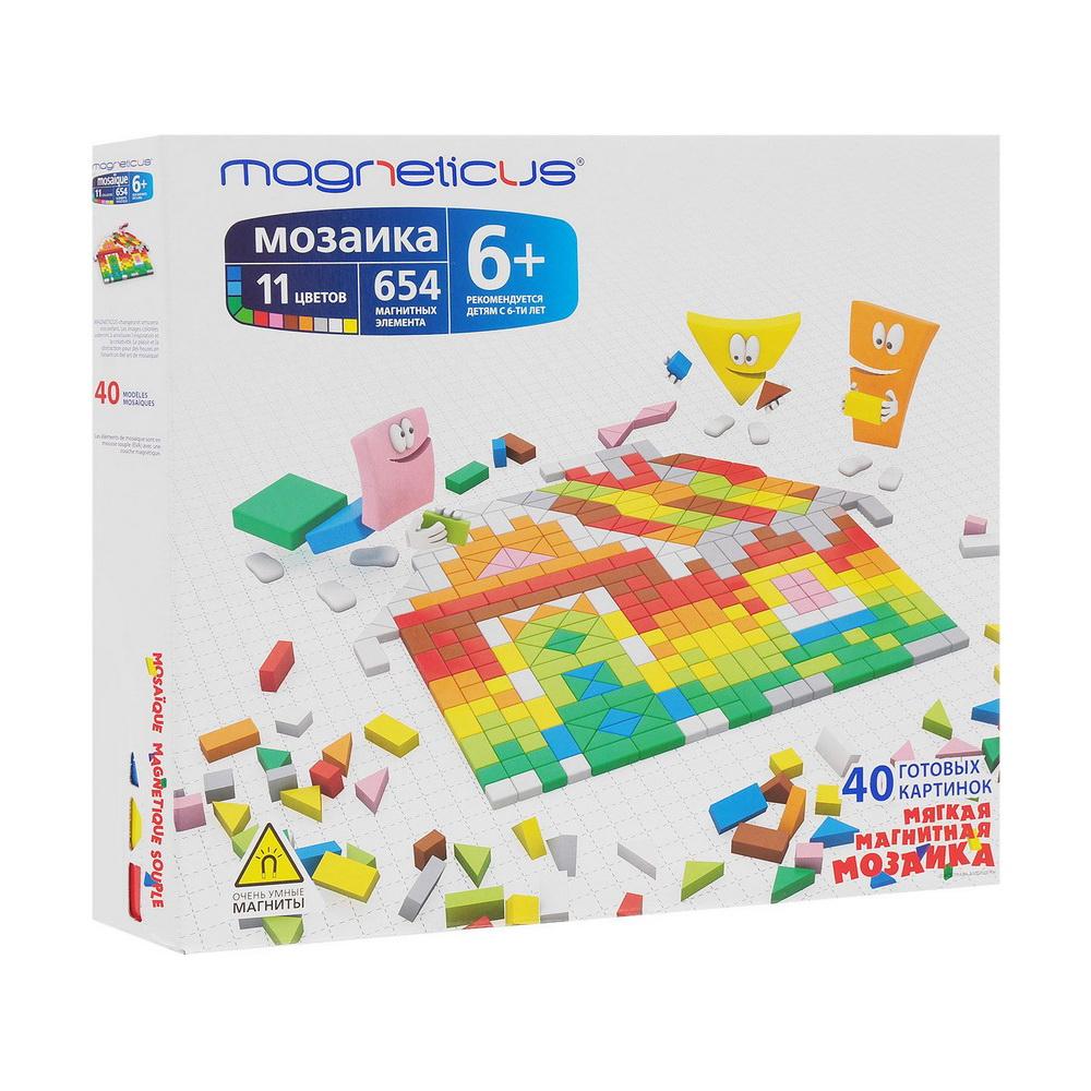 Купить Мозаика 6+ / 654 элемента /11 цветов /40 этюдов