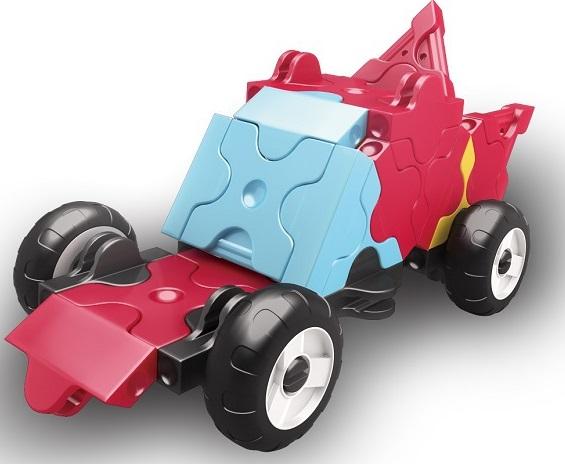 Конструктор Laq, 37 деталей, красныйОригинальный конструктор LaQ японского производства. Серия Hamacron включает в себя наборы для сборки транспортных средств — автомобилей, самолётов, поездов, специальной техники и др. Конструкторmini Racer ? Red представляет собой небольшой набор деталей для сборки автомобиля. Этот набор ввиду простоты подходит для самых маленьких строителей, помогая им развивать фантазию и пространственное мышление. В комплект входит пошаговая инструкция для сборки. Детали всех конструкторов LaQ совместимы между собой, т.е. разные наборы великолепно дополняют друг друга и значительно расширяют количество моделей, которые можно собрать. И если Вам понравится данный набор Вы всегда сможете у нас купить дополнительные детали или другой конструктор и объеденить их — у Вас будет больше деталей, больше поле для творчества!!!<br>