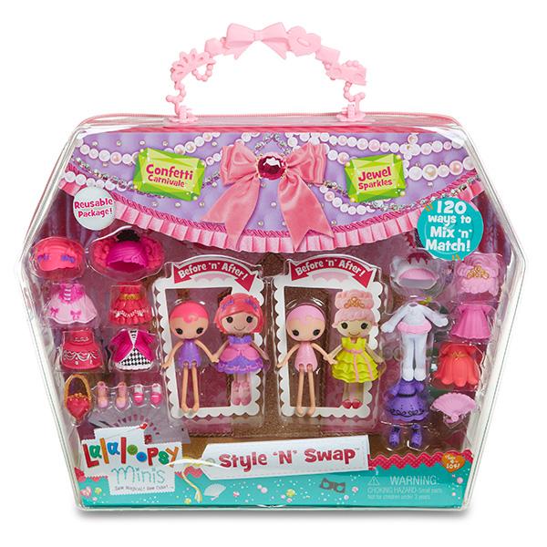 Игровой набор Mini Lalaloopsy с двумя куклами и аксессуарами в асс-те игрушка кукла mini lalaloopsy 2 с дополнительными аксессуарами в асс те lalaloopsy