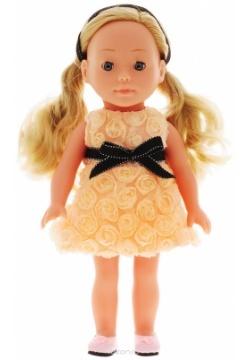 Кукла Bambolina Boutique 30 см., 2 вида в ассортименте, подвижные глазаКукла Dimian Bambolina Boutique Молли станет лучшей подружкой для девочки. У Молли красивые глазки с ресничками, которые могут открываться и закрываться. Ее длинные роскошные волосы можно расчесывать и мыть. Кукла одета в праздничное платье персикового цвета и в кожаные туфли. От Молли исходит приятный ванильный аромат.<br>