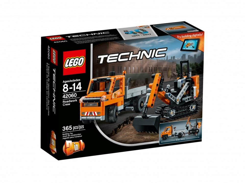 Конструктор Lego Technic 42060 Дорожная техника конструктор lego джуниорс грузовик для дорожных работ
