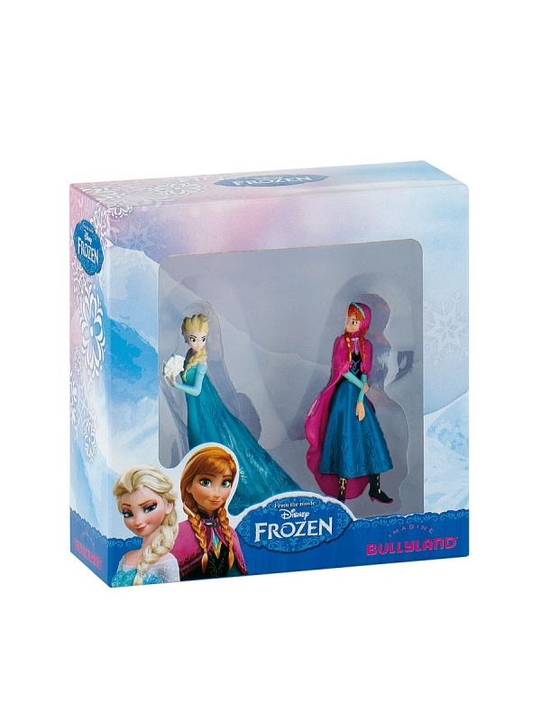 Набор фигурок Frozen Эльза и Анна, 7 смНабор фигурок Холодное сердце состоит из двух куколок, героинь одноименного мультфильма - Эльзы и Анны. С этими игрушками девочка может разыгрывать сценки из полюбившегося мультика, или же придумывать свои собственные истории. Фигурки выполнены из пластика, тщательно прорисованы и предназначены для детей в возрасте от 3 лет.<br>