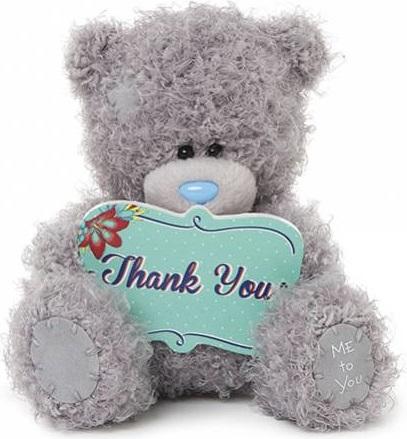 Мишка Тедди Me to You 13 см спасибо тебе мишка g01w3824 тедди me to you 13см в футболке 1165261