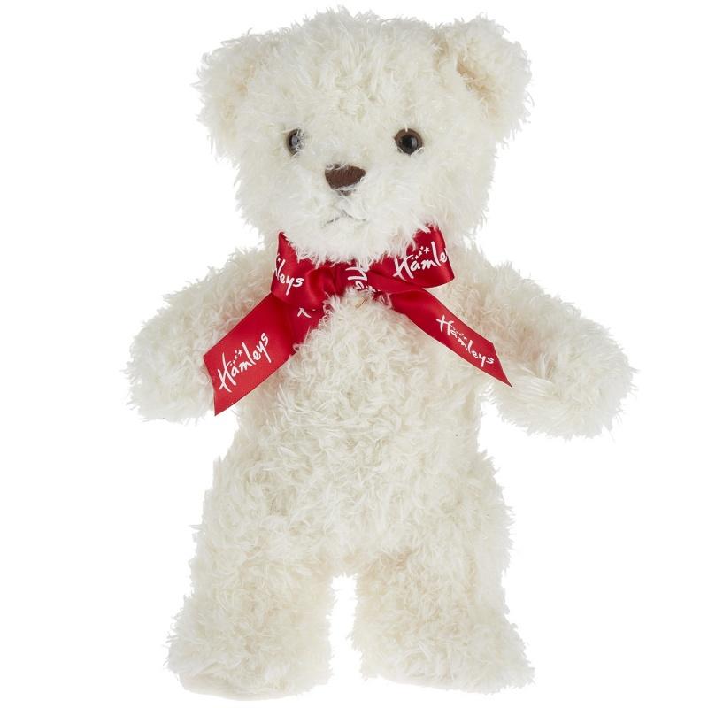 игрушка плюшевая медведь стоячий эльза