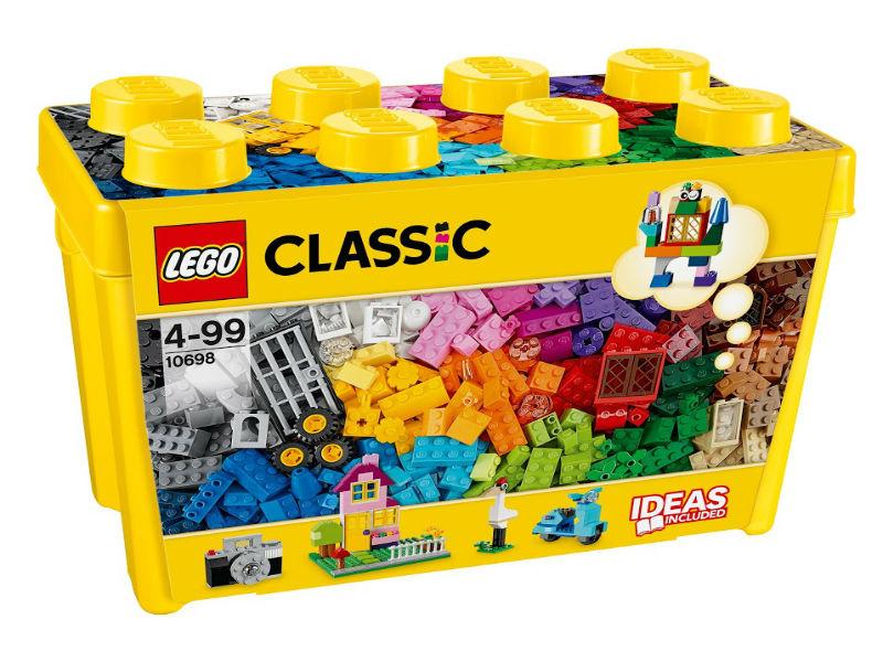 Конструктор Lego Classic 10698 Набор для творчества большого размера lego lego classic набор для творчества среднего размера