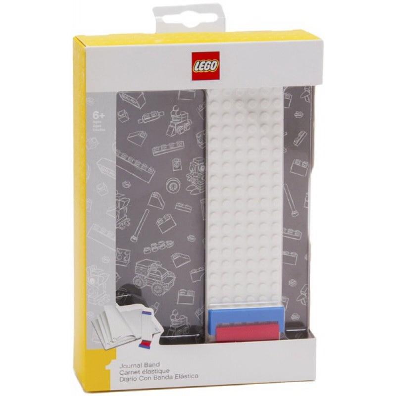 Книга для записей (96 листов, линейка) с закладкой LEGO, цвет серый (51524) смартфон планшет дёшево почтой наложенным платежом