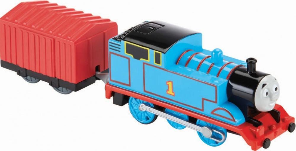 Паровозик Thomas &amp; FriendsПаровозик Томас - главный герой известного по всему миру британского мультсериала. Эта игрушка станет отличным подарком для всех поклонников мультфильма, а также для всех любителей железных дорог. С паровозиком Томасом ваш малыш сможет разыгрывать различные новые сценки, развивая воображение и способность к сочинительству, а также воплощать в жизнь сюжеты из мультика, тренируя память. Благодаря отличным техническим характеристикам, паровозик может быстро разгоняться и даже преодолевать различные препятствия.<br>