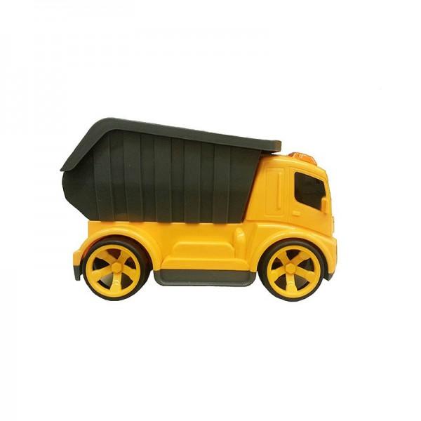 Машинка р/у АЛЬЯНС ZB 8004 СпецтехникаРадиоуправляемый строительная техника имеет полное упралвение, может ехать вперед/назад, разворачивается, поднимает и опускает кузов.Отличный дизайн, прост в управлении.  Ребенок сможет почувствовать себя настоящим строителем.<br>