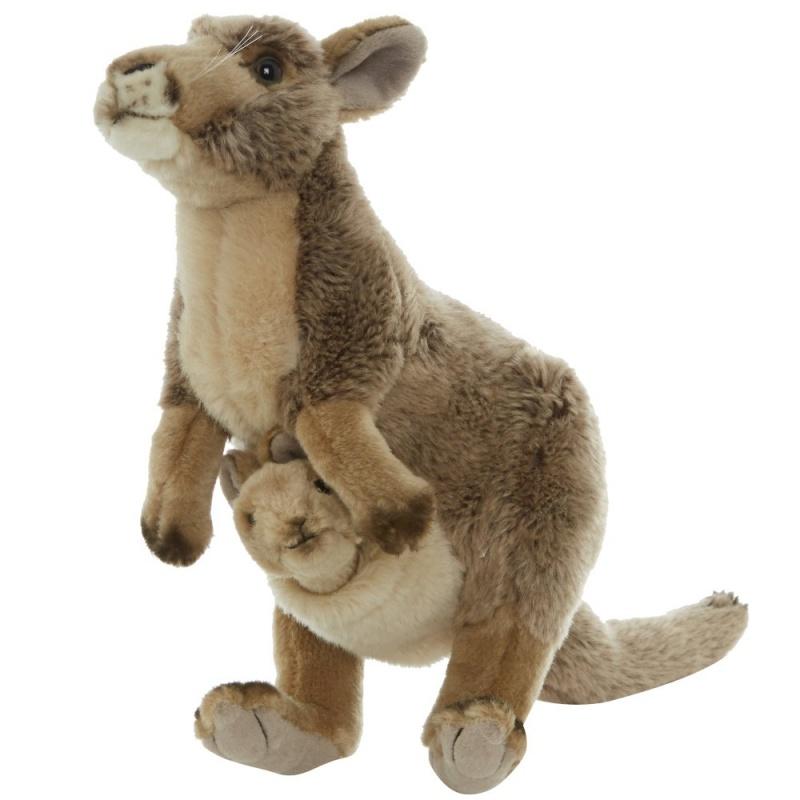 Игрушка плюшевая КенгуруЗнаете ли вы, что кенгуру может прыгать до трех раз выше их роста, но не может идти в обратном направлении? Некоторых мальчиков и девочек с детства увлекает животный мир. Изготовленные из лучших материалов с особым вниманием к деталям.<br>