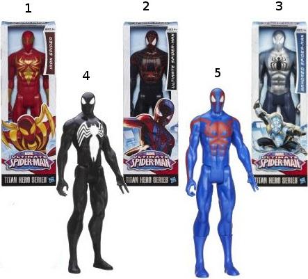 Фигурки Spiderman Человека-Паука 8