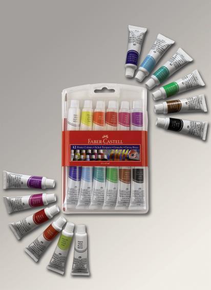Гуашь, набор цветов 12 шт. по 12 мл.Гуашь для живописи и творчества - это набор из 12 цветов, позволяющий создать совершенно неповторимые и красивые рисунки. Краски изготовлены из самых качественных материалов, не вызывающих аллергические реакции. Набор упакован в пластиковую коробку, каждый тюбик с краской имеет этикетку, на которой изображен цвет, находящийся внутри.Характеристики набора гуашиОсновные характеристики набора гуаши:количество штук в наборе - 12;объем тюбика - 12 мл;упаковка - пластик.Где купить гуашь недорого?В нашем интернет-магазине вы можете купить набор гуаши из 12 цветов по самой доступной цене. Мы предлагаем сделать как предварительный заказ, так и оформить доставку.<br>