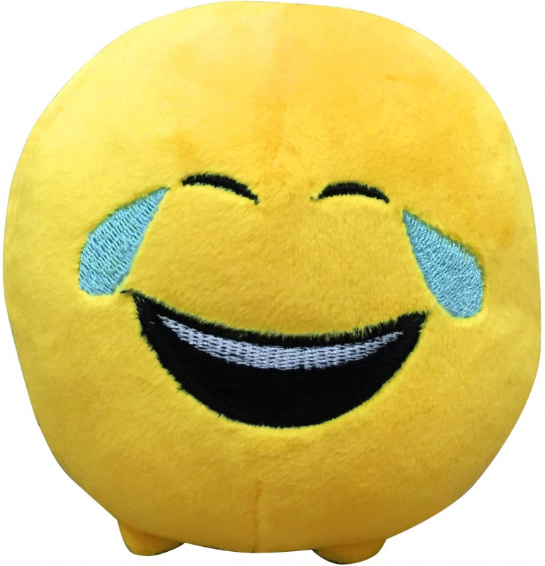 Мягкая плюшевая игрушка Emoji 40059Мягкая игрушка-смайлик высотой 11 см. Особенность игрушки в том, что она понравится как детям, так и взрослым.Игрушка восстанавливает свою форму после смятия, имеет стойкость к сохранению своей формы с течением времени, благодаря чему игрушки компании Imoji могут украсить комнату, становясь декоративными предметами интерьера на долгие годы. Материал 100% полиэстер, смайлик — вышивка.<br>