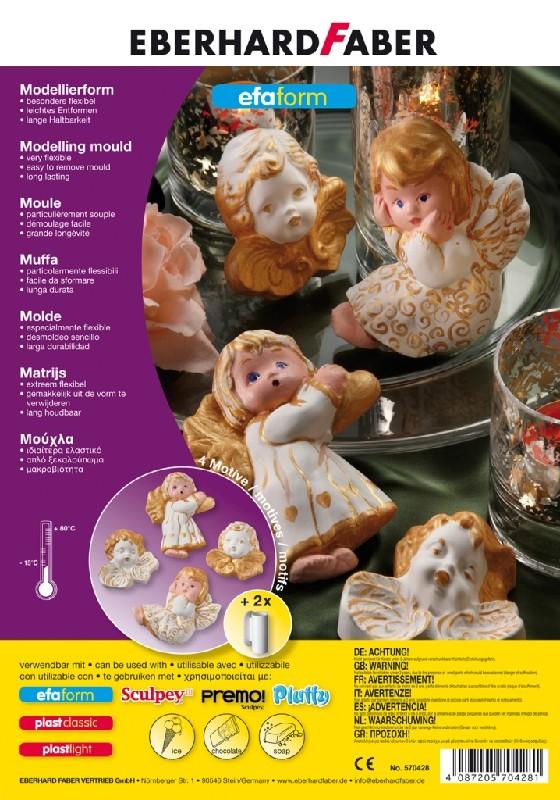 Формы для лепки Ангелы, набор формочек, в пласт. пакетеФормы для лепки «Ангелы» предназначены для использования совместно с гипсовым порошком, воском или разнообразными пищевыми продуктами, такими как шоколад, печенье и т.д. Формы отлично подходят для развития творческих способностей ребенка, помогая развивать аккуратность, трудолюбие и усидчивость. Представленная модель поможет вашему малышу научиться многим полезным навыкам в интересной игровой форме.МатериалыФормы для лепки изготавливаются из прочного и экологически безопасного пластика, который исключает вредные воздействия на организм. Благодаря структуре материала пластик не выделяет вредных веществ при контакте с пищевыми продуктами. Доставка и оплата        Вы можете приобрести формы для лепки «Ангелы» по доступной цене в одном из наших розничных магазинов в Санкт-Петербурге или Москве. Также у жителей любого региона страны есть возможность сделать заказ через сайт и оформить оперативную доставку, чтобы ваш малыш получил подарок как можно быстрее.<br>
