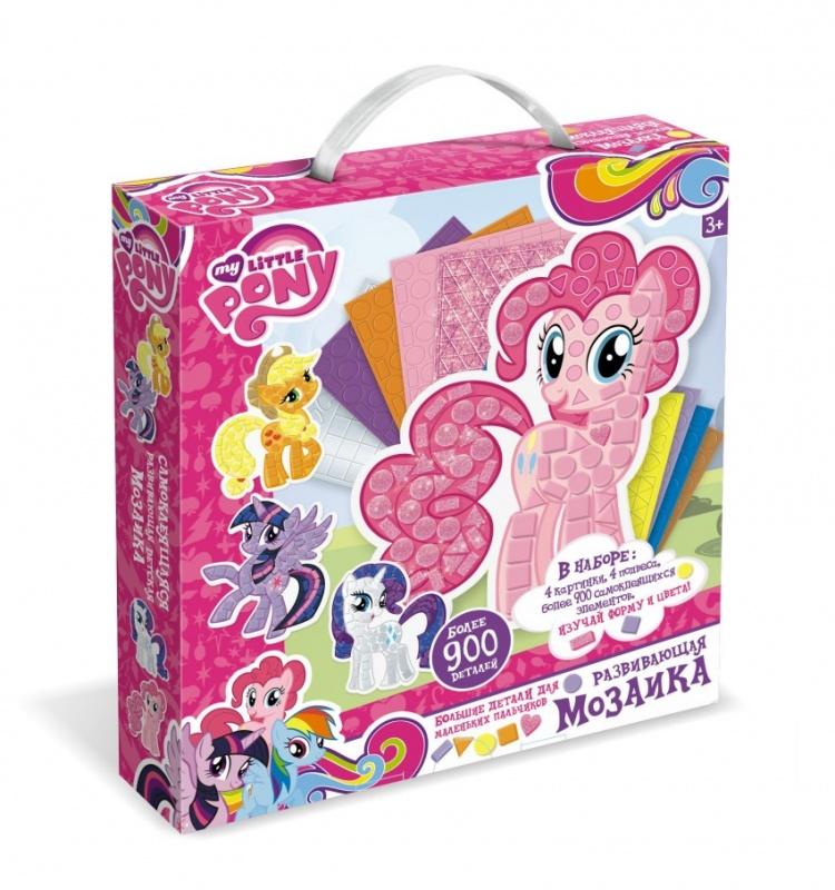 Набор мозаик для малышей Май Литл Пони мозаика по номерам май литл пони в облаках