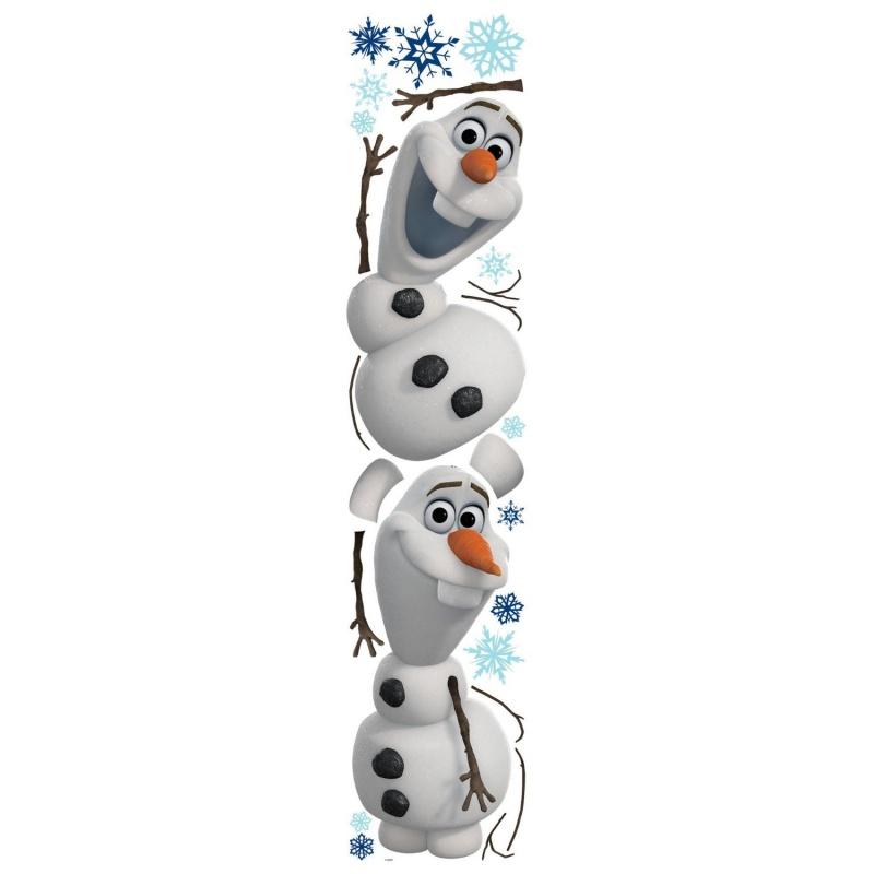 Наклейки для декора. Снеговик Олаф.Холодное сердце купить аксессуары в автомобиль наложенным платежом