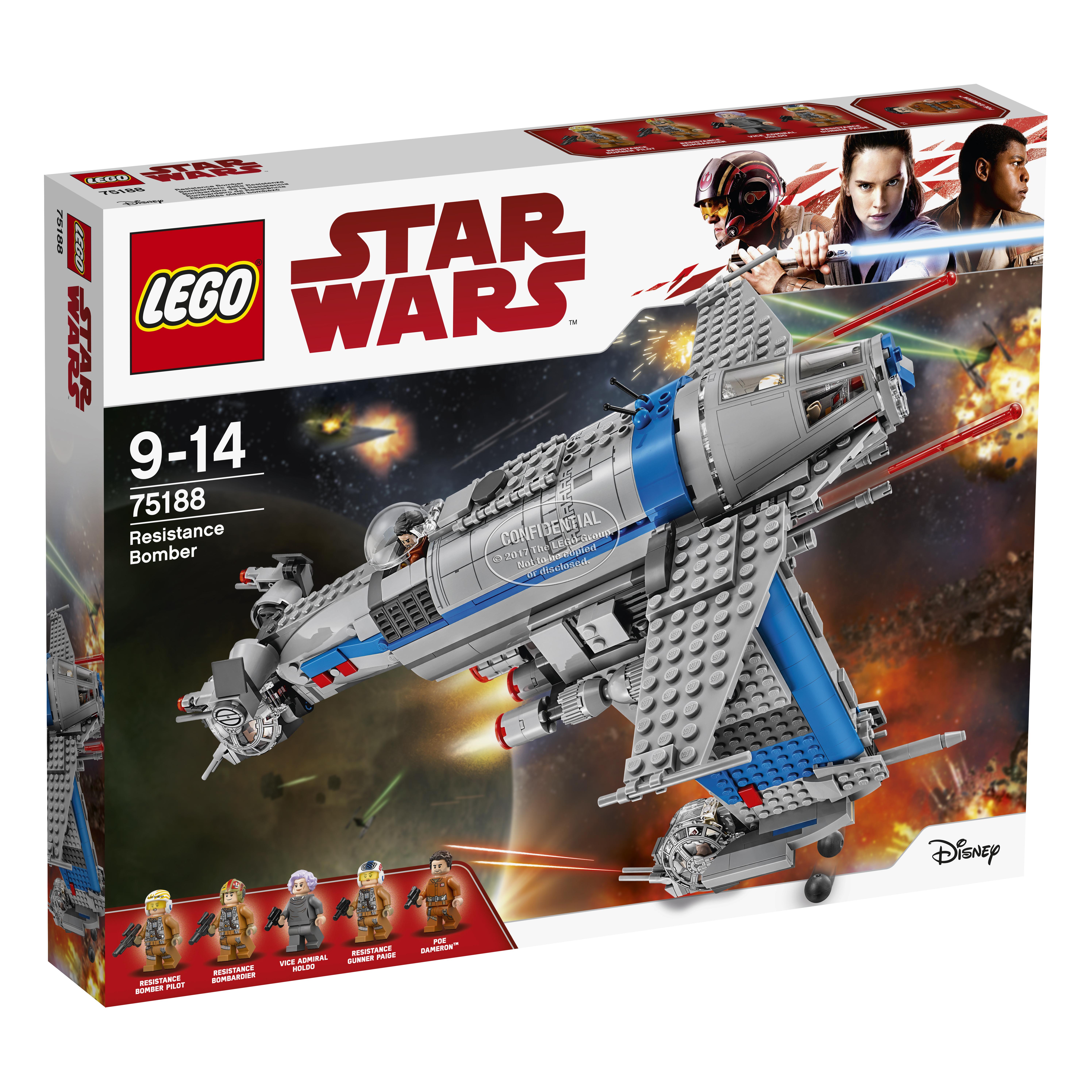 Купить Конструктор Lego Star Wars Resistance Bomber