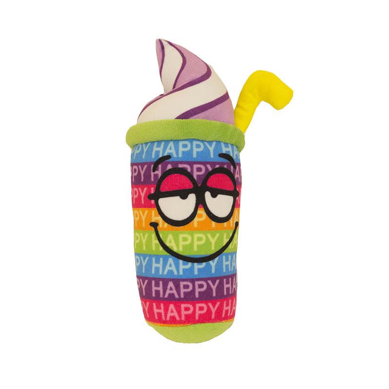 Коктейль-счастьеЗабавная и уморительная мягкая игрушка Коктейль-счастье привлечет внимание не только ребенка но и взрослого<br>