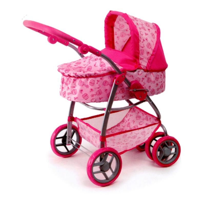 """Купить со скидкой Коляска прогулочная """"Melobo"""", Комбо-Люкс, 4 колеса, для куклы, 45 см."""