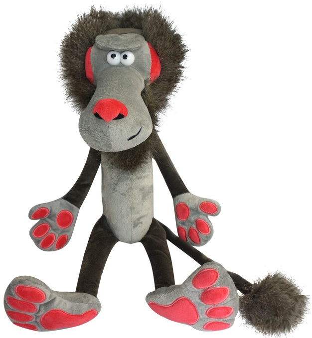 Купить Мягкая игрушка Maxitoys Бабуин Вован, 26 см