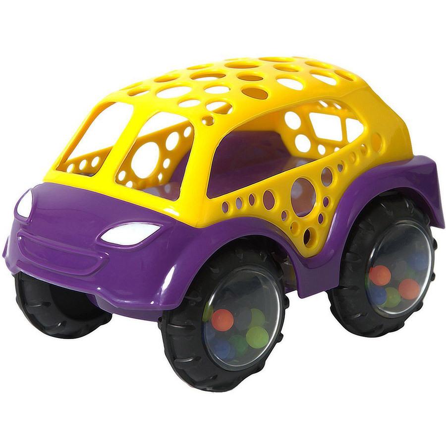 Машинка-неразбивайка желт.фиолетоваяМашинка-неразбивайка Baby Trend - первая машинка малыша!Внутри колёсиков спрятаны разноцветные бусинки, которые издают забавные звуки, когда малыш трясёт машинку.Благодаря уникальной форме игрушку удобно держать маленькими пальчиками.Выполнена из мягкого гибкого пластика.Развивает моторику, слух, зрение.<br>