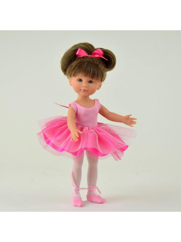 Кукла Asi Селия, 30 см.Эта очаровательная и изящная балерина - куколка Селия от испанского кукольного дома ASI.Куколка полностью выполнена из винила, очень натуральных тонов, приятного на ощупь, с детальной проработкой мельчайших подробностей.Куколка, ростом 30 см, имеет очень длинные ножки и ручки, тонкую талию и очаровательное личико. У нее длинные волосы, собранные в хвост.Балерина одета в ярко-розовую пачку и пуанты.Селия - станет украшением любой кукольной коллекции.<br>