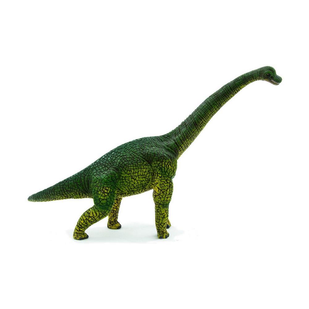 387044 (Animal Planet)-Брахиозавр (XL)Брахиозавр - род растительноядных динозавров-зауроподов из семейства брахиозаврид, живших в конце юрского периода (161,2-145,5 млн лет назад) на территории Северной Америки, Африки и Европы. До открытия сейсмозавра считался самым высоким динозавром. Маленькая голова на конце восьмиметровой шеи находилась на высоте 13 метров. Ноздри брахиозавра располагались на своеобразном полукруглом костном гребне выше глаз и были снабжены клапанами.Фигурки Mojo познакомят детей с окружающим миром, развивают творческие способности и расширяют возможности ролевых игр. Все фигурки выполнены из высококачественных материалов с максимальной точностью и раскрашены вручную.<br>