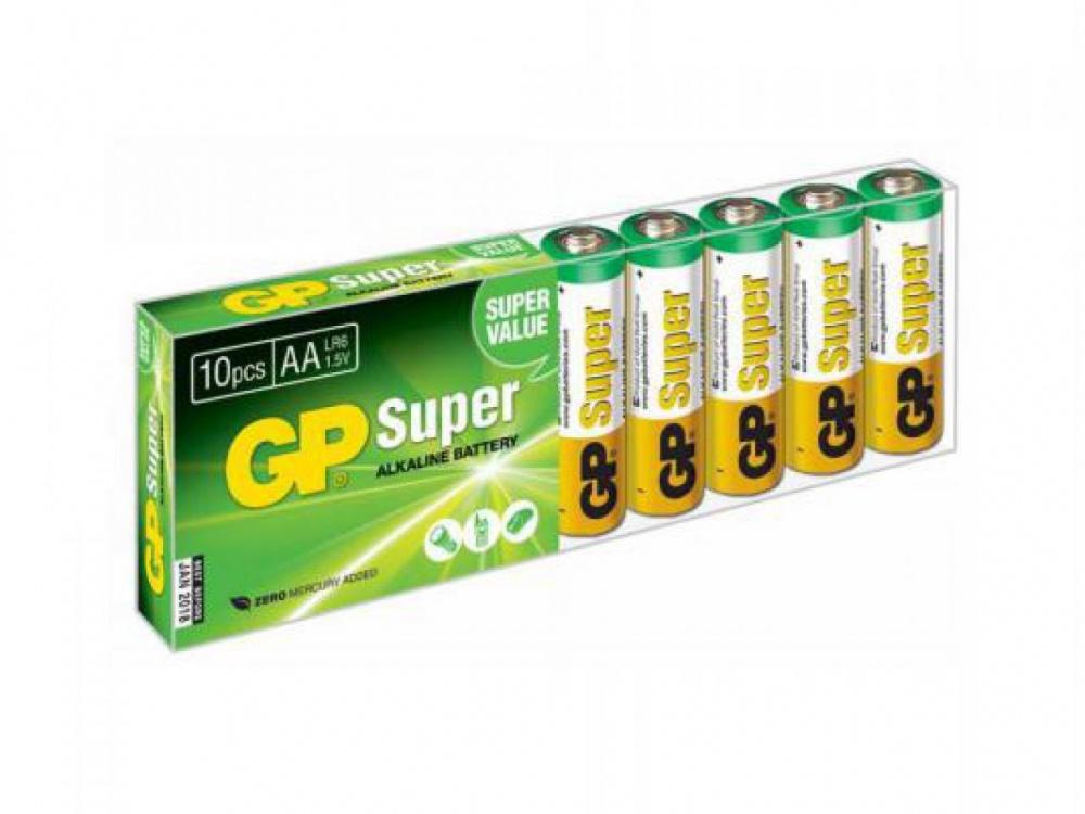 Элементы питания GP SUPER 10шт.упак  AA15A8/2-CR10