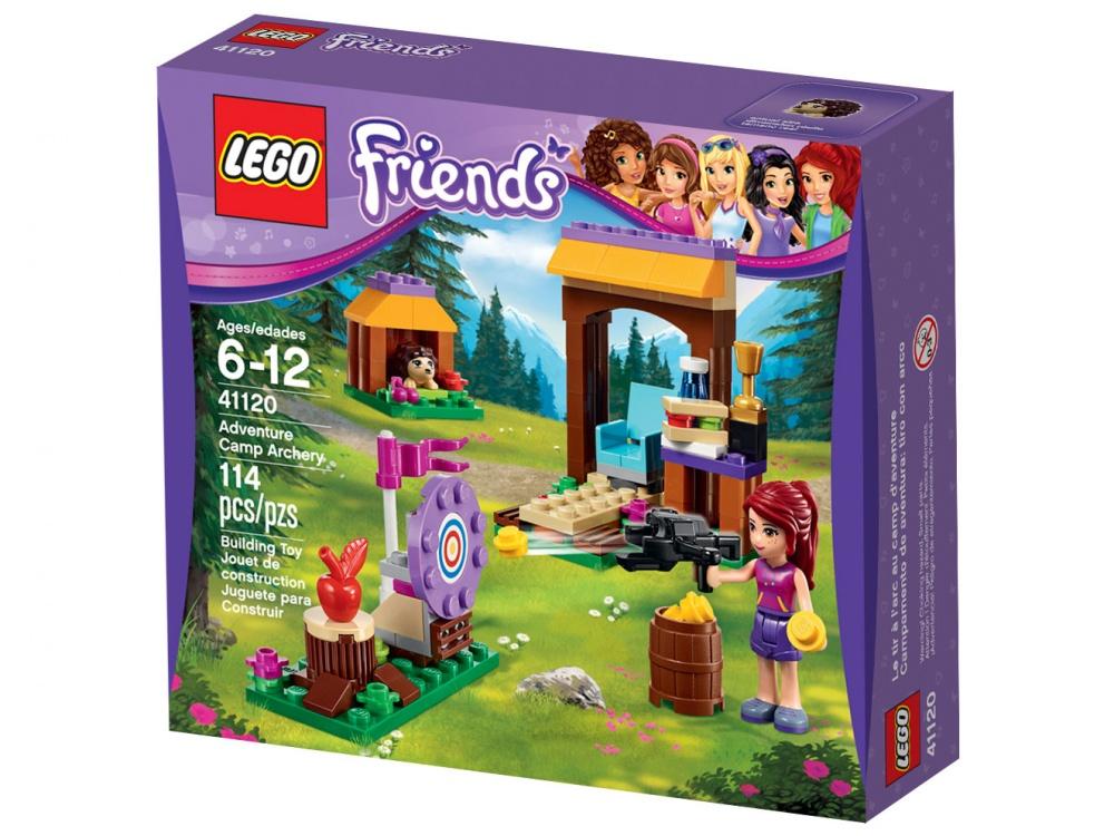 Конструктор Lego Friends 41120 Спортивный лагерь: стрельба из лука lego lego friends спортивный лагерь сплав по реке