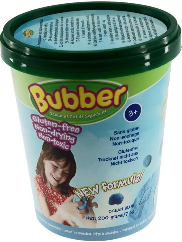 Масса для лепки Waba Fun Bubber, синяя, 200 гр. песочница надувная waba fun